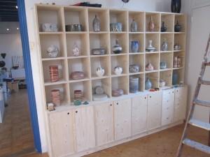kast 2 in de keramiekwinkel